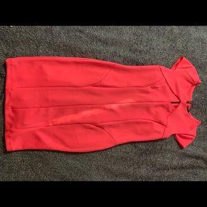 Fluorescent pink dress, never worn